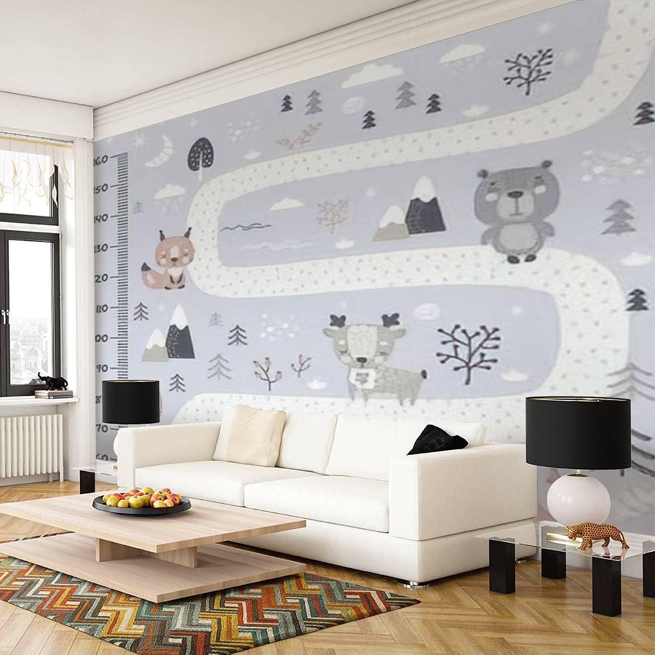 Self Adhesive Peel and High material Stick Wallpaper Kids Wall PVC Print Max 62% OFF Mural