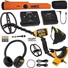 Garrett ACE 400 Metal Detector w/ Z-Lynk Wireless Audio System & Pro Pointer AT