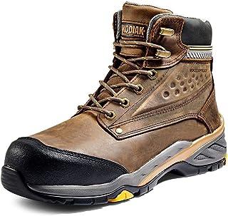 حذاء Codiak للرجال 15.24 سم مصنوع من مادة صناعية من الجمعية الأمريكية لاختبار المواد المقاومة للماء، لون بني متوسط، 9.5