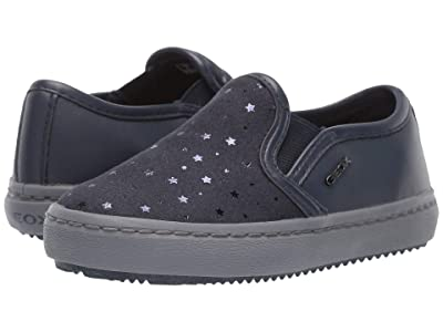 Geox Kids Jr Kalispera 25 (Toddler) (Navy) Girls Shoes