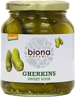 Biona Organic - Jarred Pickles - Gherkins - 350g