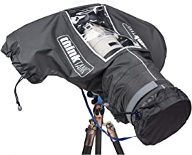 Think Tank Photo Hydrophobia DM 300-600 V3 Camera Rain Cover for DSLR and Sony Alpha Series Full-Frame mirrorless Cameras ...