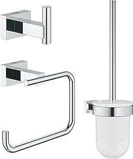GROHE Set d'accessoires 3 en 1 Essentials Cube 40757001