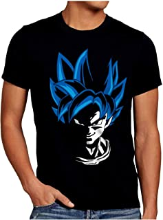 Camiseta Dragon Ball Goku - Tallas S-M-L-XL-XXL - Serigrafia de calidad - 100% Algodón - Camiseta Impresión Digital - Muy transpirable