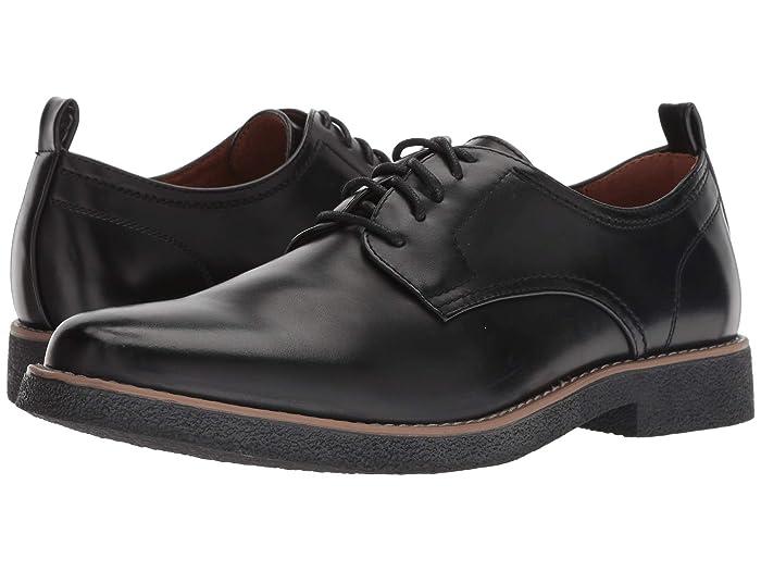 1950s Mens Shoes | Boots, Greaser, Rockabilly Deer Stags Highland Comfort Oxford BlackBlack Mens Plain Toe Shoes $44.99 AT vintagedancer.com