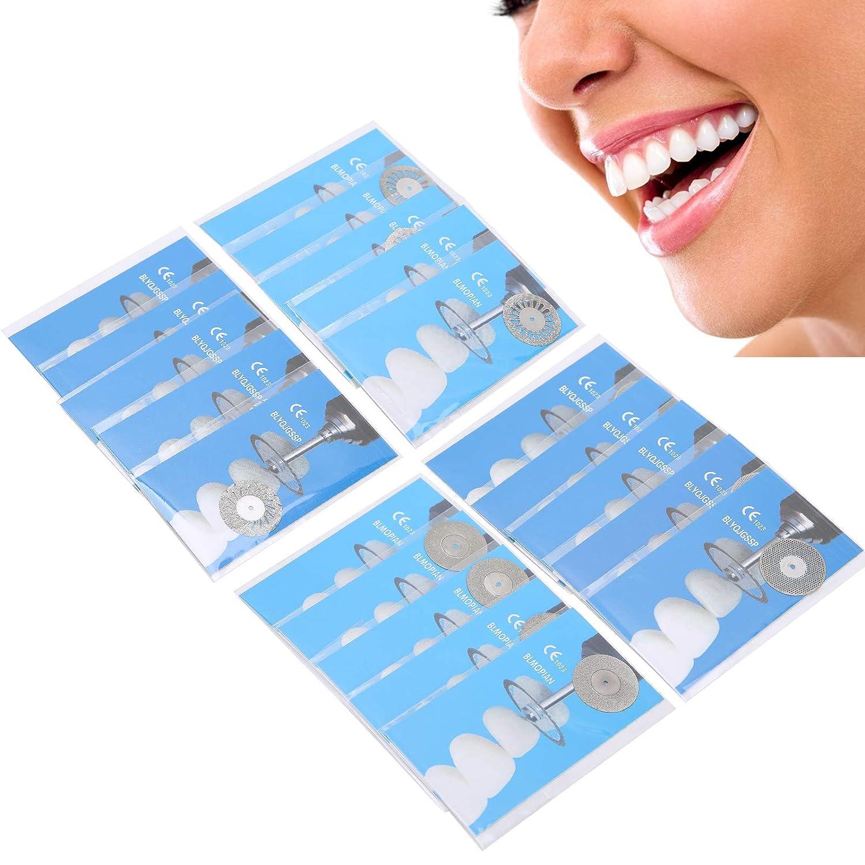 5Pcs Dental Diamond Disc Multifunction Side Double Ranking TOP18 unisex Tool