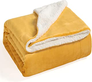 Best yellow plush blanket Reviews