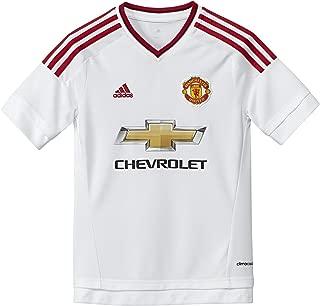 adidas 2015-2016 Man Utd Away Football Soccer T-Shirt Jersey (Kids)
