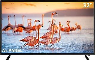 تليفزيون ال اي دي 32 بوصة اتش دي مع خاصية أي كاست, A+ panel و ريسيفر مدمج داخلي من Syinix - أسود - 32E1M