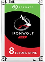 Seagate IronWolf 8Tb NAS Internal Hard Drive HDD Â 3.5 Inch SATA 6GB/S 7200 RPM 256MB Cache for Raid Network Attached Storage (ST8000VN0022)