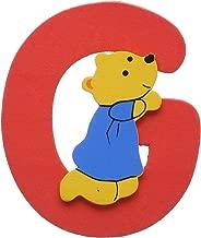 Woodyland 6 x 8 cm G Alphabet with Bear