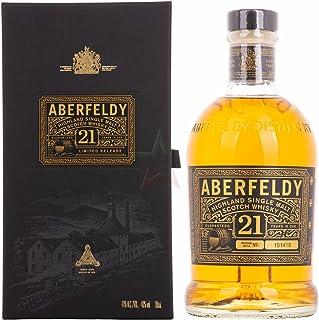 Aberfeldy 21 Years Old Highland Single Malt Scotch Whisky Limited Release 40,00% 0,70 Liter