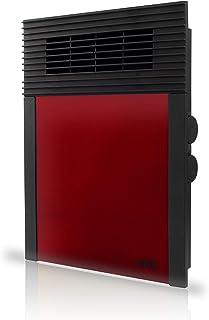 HJM TERMOVENTILADOR Vertical 638, 1000 W, Plástico, 638R Rojo