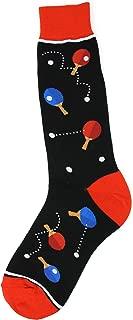 Foot Traffic, Men's Sports-Themed Socks, Fits Men's Shoe Sizes 7-12