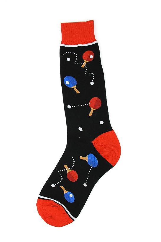 Foot Traffic - Men's Sports-Themed Socks, Fits Men's Shoe Sizes 7-12