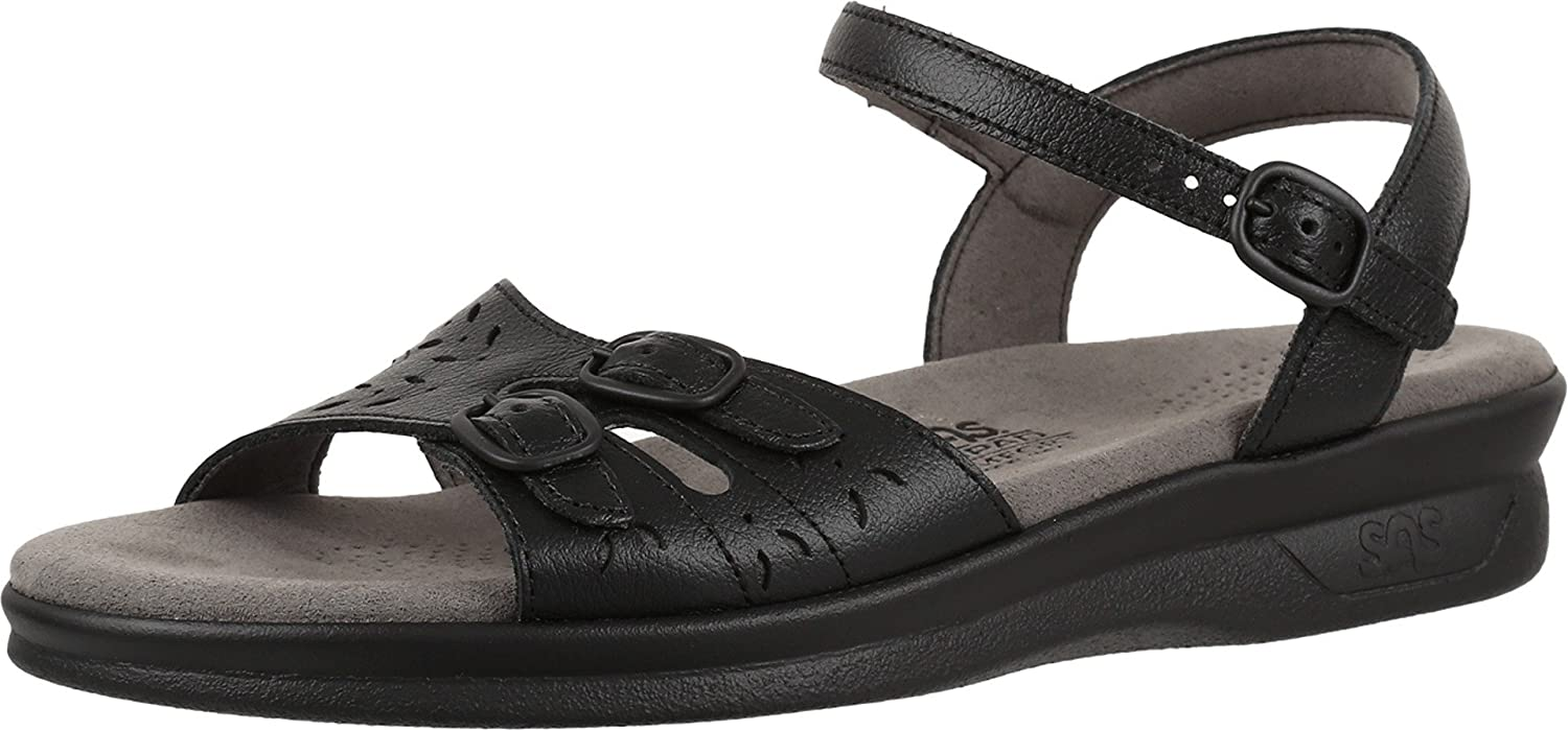 Industry No. 1 SAS Women's Duo Sandal Black S Inventory cleanup selling sale 11