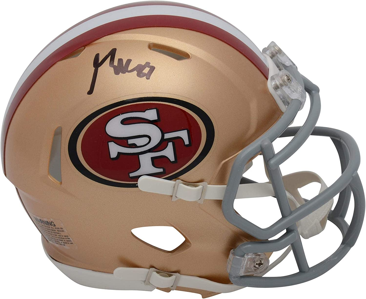 George Kittle San Francisco 49ers Mini Autographed Challenge the lowest Mesa Mall price of Japan Speed Riddell