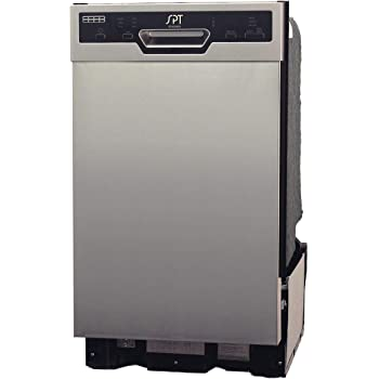 SD-9254SS: Energy Star 18″ Built-In Dishwasher w/Heated Drying – Stainless