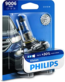 Philips 9006PRB1 9006 Upgrade Headlight Bulb with up to 30% More Vision, 1 Pack