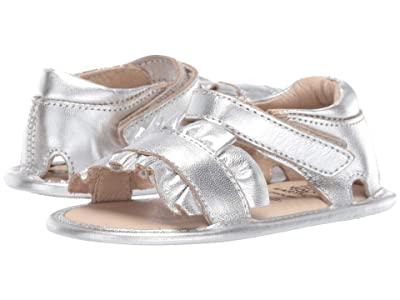 Old Soles Ruffle (Infant/Toddler) (Silver) Girl