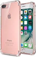 Plus Protective Soft Transparent Shockproof Hybrid Protection Back Case Cover for Apple iPhone 7 Plus