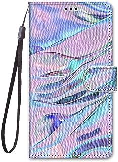 zl one Kompatibel med/ersättning för telefonfodral Alcatel 1SE 2020 PU-läder skydd söt målad kortplats plånbok flip fodral...