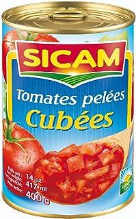 Sicam Diced Peeled Tomato, 400 gm