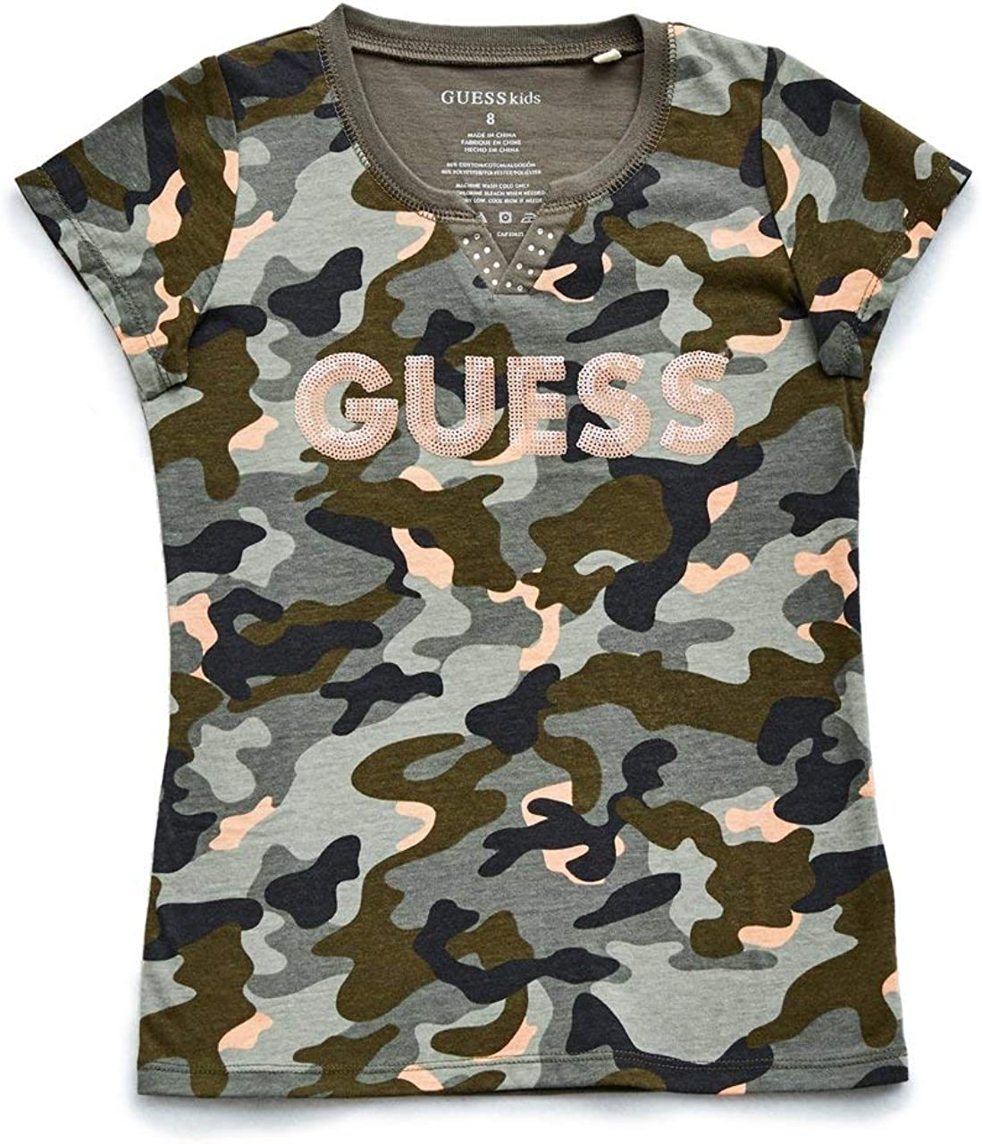 7-16 GUESS Factory Kids Girls Brielle Ruffle Sweater
