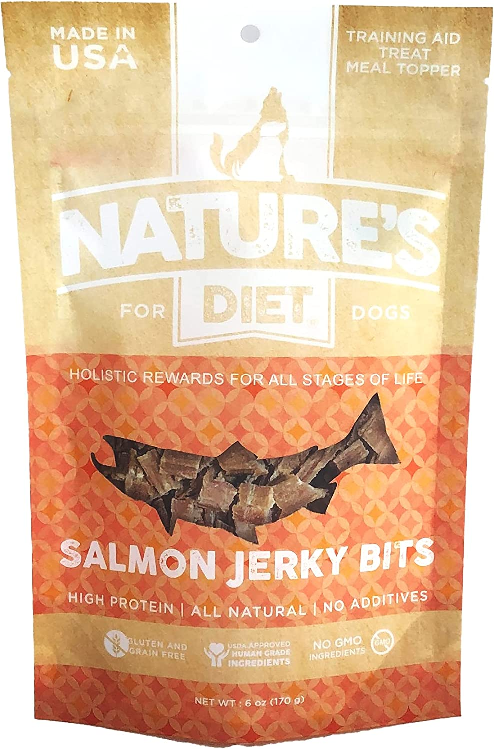 Nature's Diet All Natural Jerky Bits Treats - Max Jacksonville Mall 68% OFF no Dog p Meat
