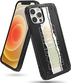 【Ringke】iPhone 12 Pro Max ケース 6.7 インチ 対応 ストラップホール付き オリジナルデザイン 落下防止 スマホケース カバー Qi 充電 アイフォン12プロマックスケース Fusion-X Design (Rout...