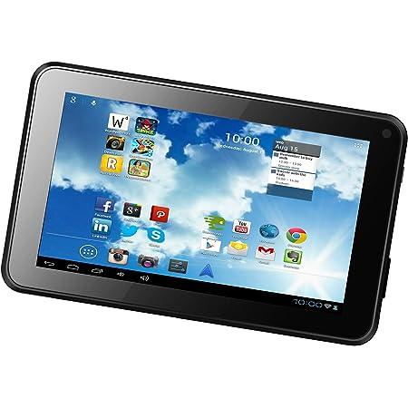 emartbuy Denver TAQ-10172 10.1 Zoll Tablet Universal Dark Blau Premium/PU/Leder/Multi-Angle/Exekutive/Folio/Geldb/örse/Tasche/H/ülle Grey Innenraum/mit/Kartensteckpl/ätze Blau Styl 9-10 Zoll