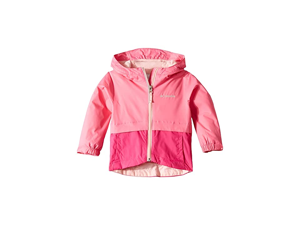Columbia Kids Rain-Zillatm Jacket (Toddler) (Wild Geranium/Haute Pink/Pink Lemonade) Girl