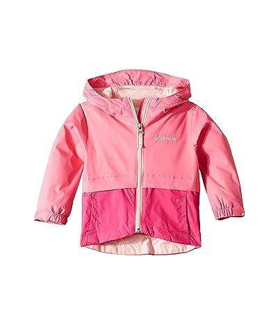 Columbia Kids Rain-Zillatm Jacket (Toddler) (Wild Geranium/Haute Pink/Pink Lemonade) Girl