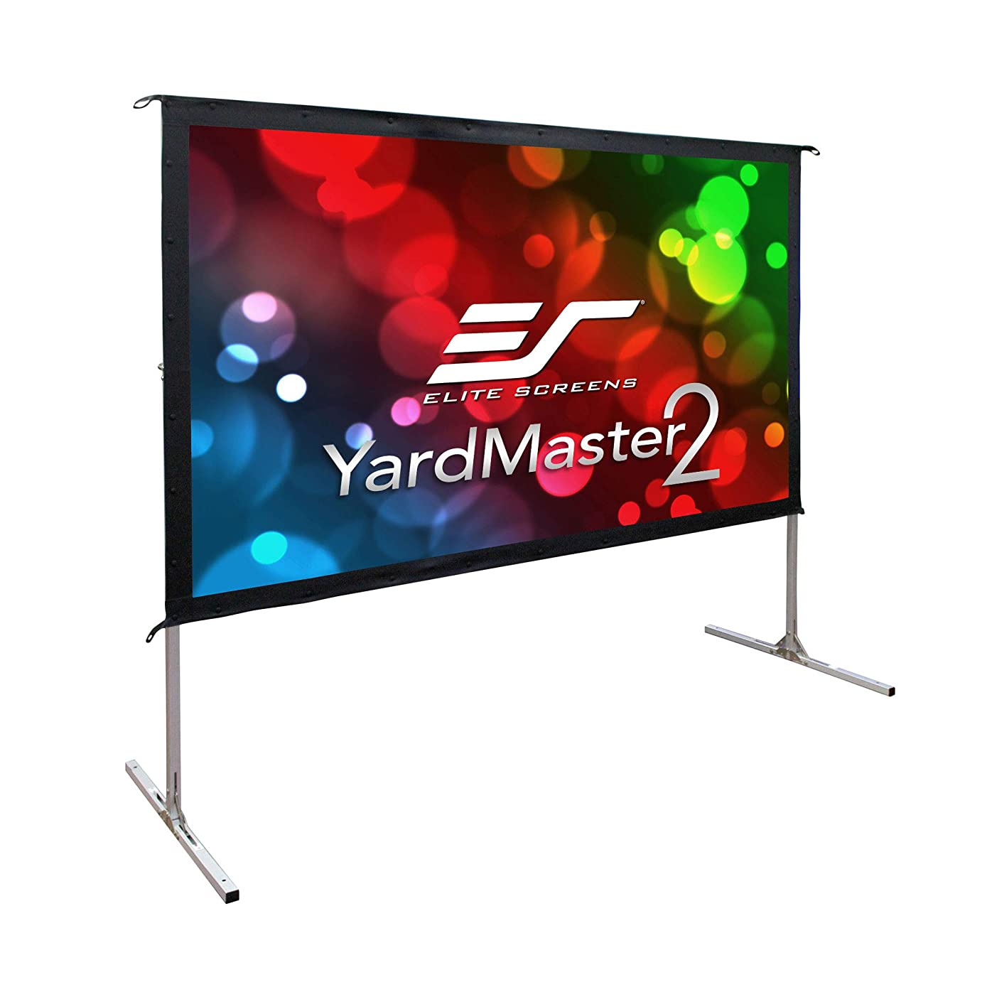 ELITE screens YARD MASTER 2,4英寸16:9,4?K ULTRA HD 便携式 foldaway 电影 theater 投影机屏幕,正面投影?–?OMS 90h2