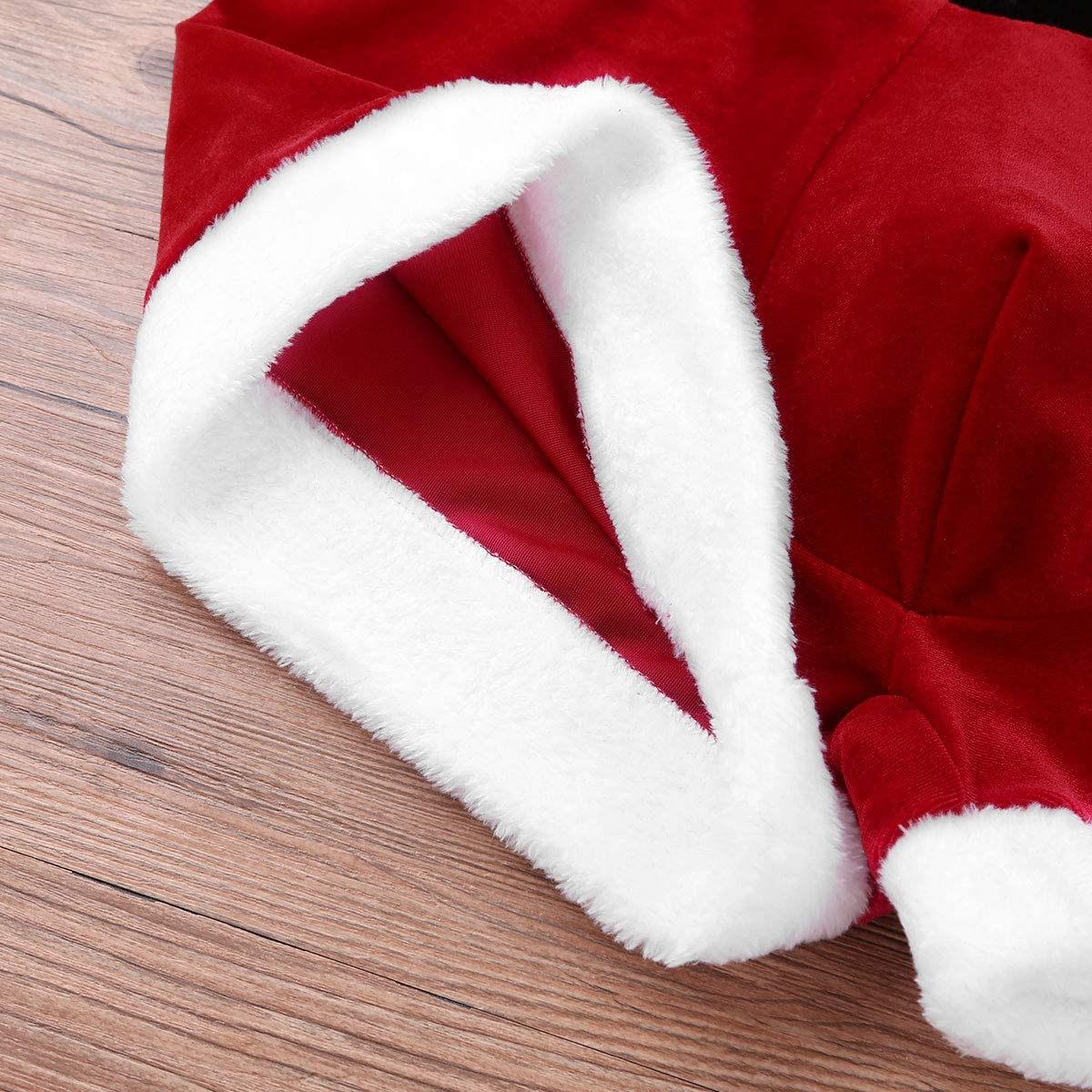 ACSUSS Mens Red Santa Christmas Costume Fancy Dress Cosplay Boxer Shorts