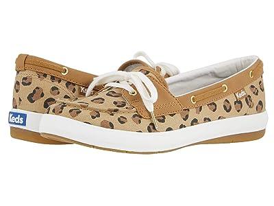 Keds Charter Leopard (Tan/Black) Women