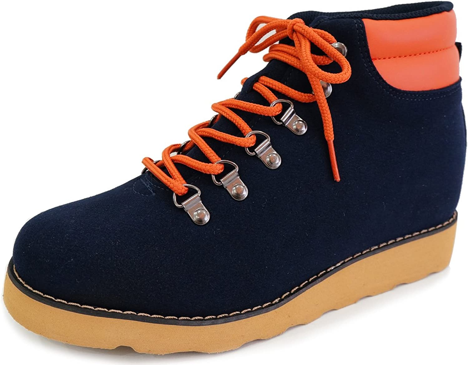 MNX15 Men's Elevator shoes Height Increase 3.9  GIO Navy