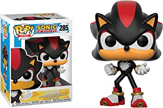 Shadow: Sonic The Hedgehog x Funko POP! Games Vinyl Figure & 1 PET Plastic Graphical Protector Bundle [#285 / 20148 - B]