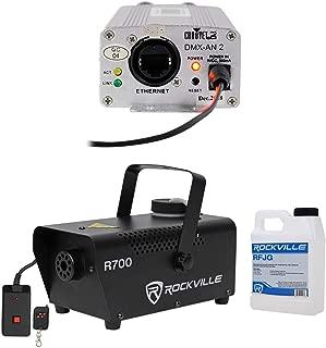 Chauvet DJ DMX-AN2 DMX to Art-Net or Art-Net to DMX Converter Interface+Fogger