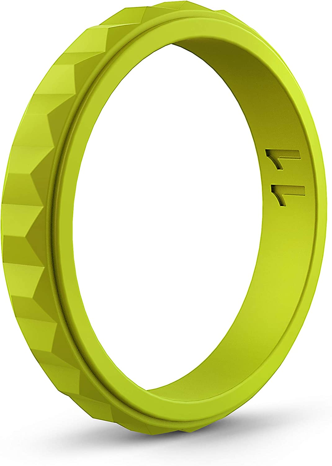 ASTERY Unique Designed Stackable Silicone Wedding Ring Bands for Women,Hypoallergenic Medical Grade Silicone,Lifetime Quality Guarantee 10 Colors//7 Size