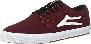 Lakai Footwear Griffin Burgundy/Black Suedesize Tennis Shoe