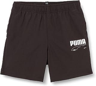 PUMA Rebel Woven Shorts B Pantalones Cortos, Niños