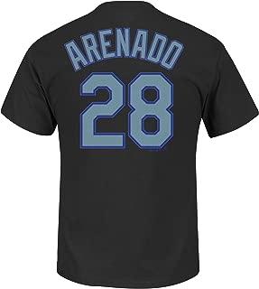 Majestic Nolan Arenado Colorado Rockies #28 Men's Player T-Shirt