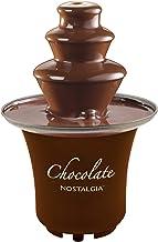 Nostalgia 8-Ounce Chocolate Fondue Fountain, Half-Pound Capacity, Easy to Assemble..