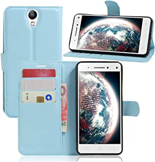 Lenovo VIBE S1 Lite Wallet Case, Premium PU Leather Flip Folio Wallet Case with Card Slot, Stand Holder and Magnetic Closu...