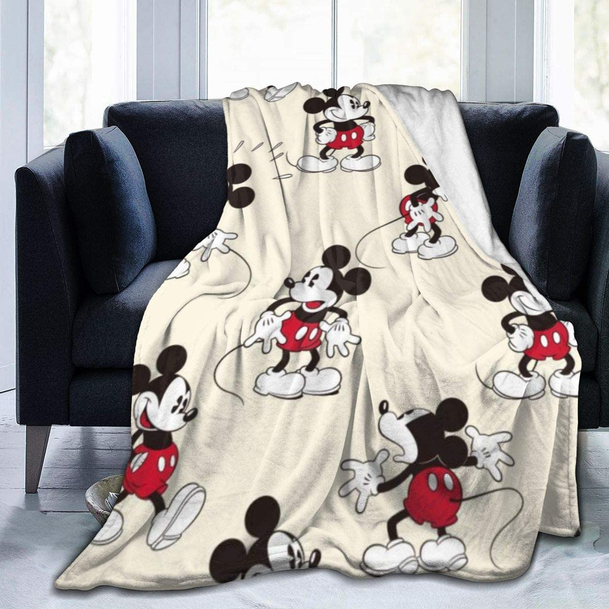 Max 62% OFF Sale special price Mickey Mouse Minnie Throw Blanket Ultra Soft Flannel Warm