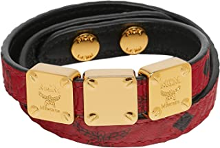 MCM Women's Project (RED) Double Bracelet, Ruby, ONE SIZE