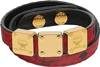 MCM Women's Project (RED) Double Bracelet, Ruby, ONE SIZE