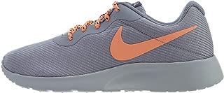 Nike Women's Tanjun SE Running Shoes (8 M US, Provence Purple/Orange Pulse)
