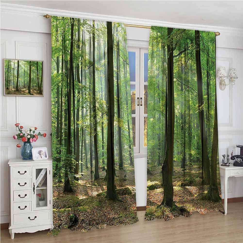 Sales of SALE items from new Direct stock discount works Window Blackout Curtains Forest Rod Farmhouse Morning Poc